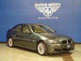 2009 Tasman Green Metallic BMW 3 Series 328xi Sedan #76681708