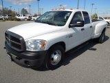 2009 Bright White Dodge Ram 3500 ST Quad Cab Dually #76682281