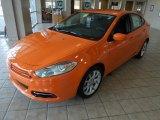 2013 Header Orange Dodge Dart SXT #76682278