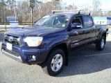 2012 Nautical Blue Metallic Toyota Tacoma V6 TRD Sport Double Cab 4x4 #76681686