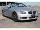 2009 Titanium Silver Metallic BMW 3 Series 328i Convertible #76682392