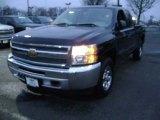 2012 Black Chevrolet Silverado 1500 LS Extended Cab 4x4 #76681681