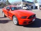 2013 Race Red Ford Mustang V6 Premium Coupe #76682267