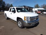 2013 Summit White Chevrolet Silverado 1500 LT Extended Cab #76682265