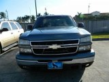 2006 Blue Granite Metallic Chevrolet Silverado 1500 LS Extended Cab #76740551