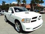 2011 Bright White Dodge Ram 1500 Sport R/T Regular Cab #76740440