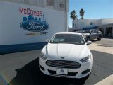 2013 Oxford White Ford Fusion S #76740384