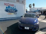 2013 Deep Impact Blue Metallic Ford Fusion SE 1.6 EcoBoost #76740382