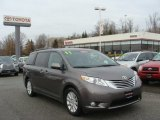 2011 Predawn Gray Mica Toyota Sienna Limited AWD #76740469