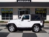 2012 Bright White Jeep Wrangler Sahara 4x4 #76740526
