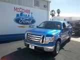 2010 Blue Flame Metallic Ford F150 XLT SuperCrew #76740423