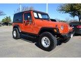 2006 Jeep Wrangler Impact Orange