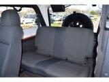 2006 Jeep Wrangler Unlimited Rubicon 4x4 Rear Seat
