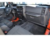 2006 Jeep Wrangler Unlimited Rubicon 4x4 Dashboard