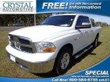 2010 Stone White Dodge Ram 1500 SLT Quad Cab #76740634