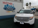 2013 Oxford White Ford Explorer FWD #76740410
