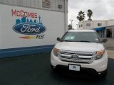 2013 White Platinum Tri-Coat Ford Explorer XLT #76740408