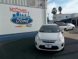 2013 Oxford White Ford Fiesta SE Sedan #76740405