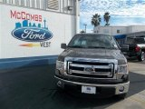 2013 Kodiak Brown Metallic Ford F150 XLT SuperCrew #76740401