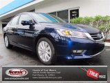 2013 Obsidian Blue Pearl Honda Accord EX Sedan #76740338