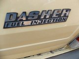 Volkswagen Dasher Badges and Logos