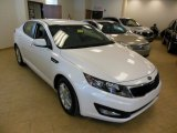 2013 Snow White Pearl Kia Optima LX #76773861