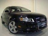 2008 Brilliant Black Audi A4 3.2 Quattro S-Line Sedan #7655330