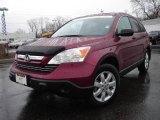 2008 Tango Red Pearl Honda CR-V EX 4WD #7654090