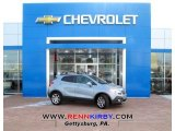 2013 Glacier Blue Metallic Buick Encore Leather #76773719