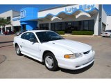 1995 Crystal White Ford Mustang V6 Coupe #7652635