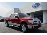 2013 Ruby Red Metallic Ford F150 XLT SuperCrew 4x4 #76773570