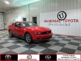 2012 Race Red Ford Mustang V6 Premium Coupe #76773513