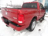 2009 Inferno Red Crystal Pearl Dodge Ram 1500 Sport Crew Cab 4x4 #76773773
