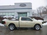 2011 White Gold Dodge Ram 1500 Big Horn Quad Cab 4x4 #76773497