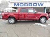 2013 Ruby Red Metallic Ford F150 Platinum SuperCrew 4x4 #76773552