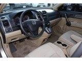 2009 Honda CR-V LX 4WD Ivory Interior