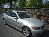 2006 Titanium Silver Metallic BMW 3 Series 330i Sedan #7656798