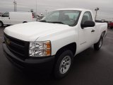 2013 Summit White Chevrolet Silverado 1500 Work Truck Regular Cab #76804272