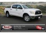 2013 Super White Toyota Tundra CrewMax 4x4 #76803773