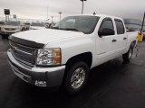 2013 Summit White Chevrolet Silverado 1500 LT Crew Cab 4x4 #76804266