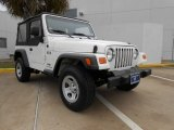 2006 Stone White Jeep Wrangler X 4x4 #76804505