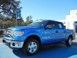 2012 Blue Flame Metallic Ford F150 XLT SuperCrew #76804000
