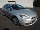 2013 Bright Silver Metallic Dodge Dart Limited #76804376