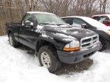 2004 Black Dodge Dakota Regular Cab 4x4 #76803866