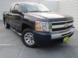 2010 Imperial Blue Metallic Chevrolet Silverado 1500 LS Extended Cab #76804110