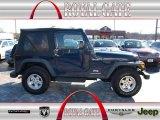2006 Midnight Blue Pearl Jeep Wrangler Sport 4x4 #76803846