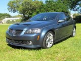 2009 Pacific Slate Metallic Pontiac G8 Sedan #76804629