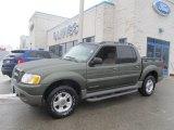 2002 Estate Green Metallic Ford Explorer Sport Trac 4x4 #76804093