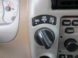 2002 Ford Explorer Sport Trac 4x4 Controls