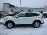 2013 White Diamond Pearl Honda CR-V EX-L AWD #76804462